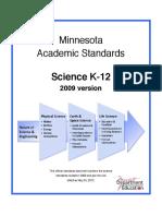 science standards mn 2009  005263