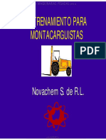 Curso Operadores Montacargas Accidentes Operacion Principios Estabilidad Inspeccion Componentes Clasificacion