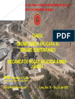Mecanica Rocas Mina Juanita