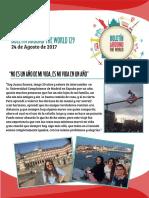 Around The World Boletín 129