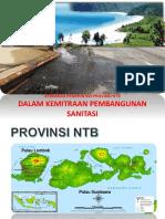 Kemitraan Pembangunan Sanitasi Di Provinsi NTB
