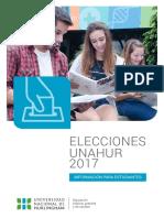 Elecciones 2017- Estudiantes