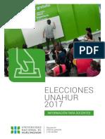 Elecciones2017-Docentes