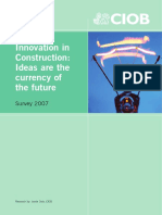Innovation in Construction