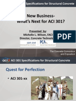 ACI 301- New Business- Whats Next- Wilson