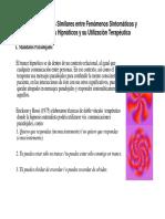 1 Características Similares Entre Fenómenos Sintomáticos y Fenómenos Hipnóticos