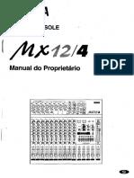 Yamaha Mx12 4 Portugues