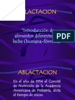 Ablactacion 2