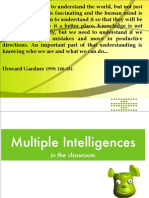 Multiple Intelligences Workshop