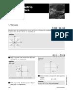 Ejercicios Geometría Aanalítica