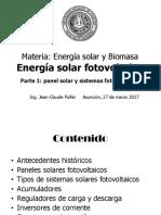Energía Solar Fotovoltaica 1