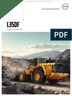 Catalogo Cargador Frontal l350f Volvo Datos Beneficios Caracteristicas Detalles Especificaciones Dimensiones Equipo