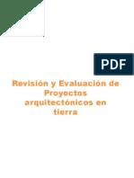 Revision y Evaluacion de Proyectos Arquitectonicos en Tierra
