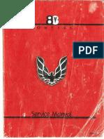1984 pontiac firebird repair manua