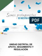 Capacitacion Procesos Direccion Distrital
