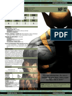 Ficha M&M 3ed 003 - Wolverine