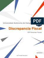 Discrepancia Fiscal- Jose Trinidad Vidal 7° A