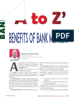 A to z Benefits of Bank Mergers.45-52