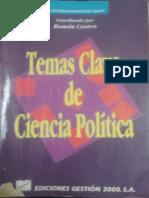 Capítulo 4 Temas Clave de Ciencia Política