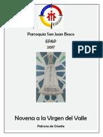 Novena de La Virgen Del Valle