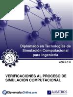 Guía - Verificación Del Proceso de Simulación Computacional
