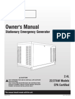 Owner Manual 27kW