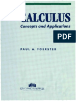 Calculus Concepts and Applications