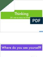 Thinking Workshop