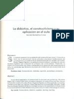 7. La Didactica El Constructivismo y Su Aplicacion en El Aula
