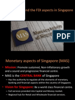 The Financial and the FDI Aspects In