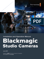 Blackmagic Studio Camera Manual
