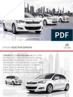 Citroen C4 B7 Edition Brochure