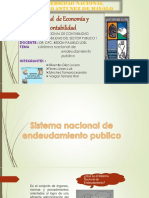 Sistema Nacional de Endeudamiento 1