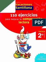 110 Ejercicios Para Mejorar La Comprension Lectora