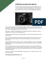 100 Nikon Tips You Need to Know