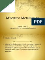 muestreo metalurgico