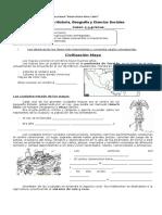Guía 4º Civilizacion Maya