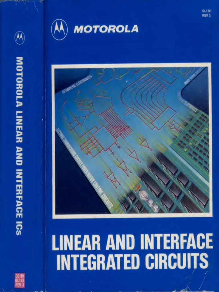 Motorolalinearinterfaceicdatabook1990 Text Operational Amplifier