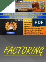 Factoring y Joint Venture