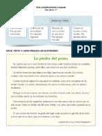 Guía Complementaria Lenguaje USO de LAS R