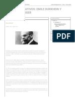 Aportes Educativos_ Emile Durkhein y Martin Heidegger
