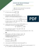 Ejercicios de selectividad Matrices - 2ºBACH - Curso 2009-2010.pdf