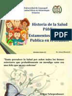 Salud Publica- Historia - EstamentosSI