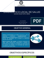 Diagnostico Local de Salud Cesfam Cpf