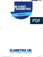 Diabetes UK Cost of Diabetes Report