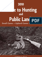 2010 Guide to Hunting and Public Lands