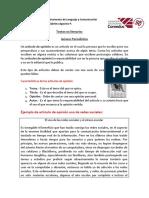 Artículo de Opinión Paper