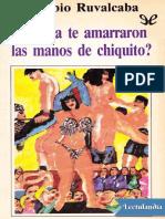 Nunca Te Amarraron Las Manos d - Eusebio Ruvalcaba