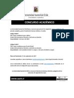 Concurso Académico Derecho UACh