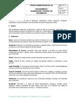 Procedimiento Elaboración y Control de Documentos Version 2, PARA CODIFICACIONES de DOCUMENTOSpdf